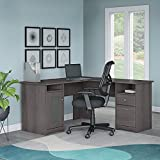 Cabot L Shaped Desk and Office Chair