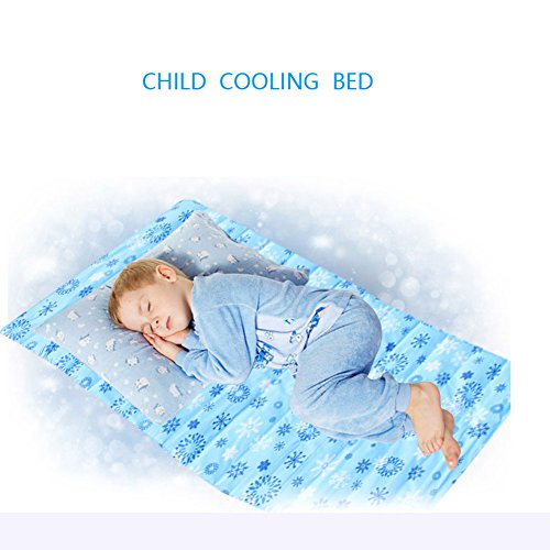 MEINI Cooling Summer Bed Mat Pet Pads ,Environmentally Friendly Smoothie No Water Or Leaks (Large) by MEINI