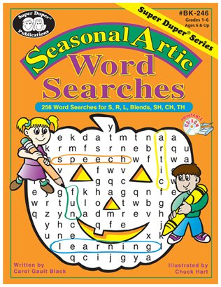 Seasonal Artic Word Search Activity Sheets: for S, R, L, Blends, SH, CH, TH - Happy Holidays! for $<!--$35.00-->