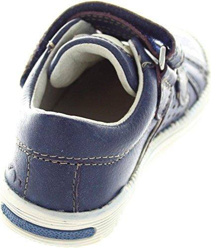 Noel  Mini Roan, Chaussures de ville à lacets pour garçon bleu bleu