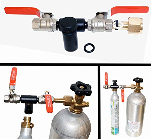 Co2 Refill System For Soda maker Tanks, Home soda maker accessories. by Trinity