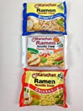 Maruchan Ramen Noodles Variety Pack (8) 3 Oz Packs of Oriental Picante Chicken
