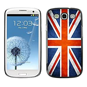 Shell-Star ( National Flag Series-Great Britain UK ) Snap On Hard Protective Case For Samsung Galaxy S3 III / i9300 i717