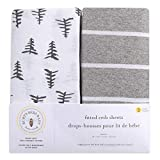 Burt's Bees Baby - Fitted Crib Sheets, 2-Pack, Boys