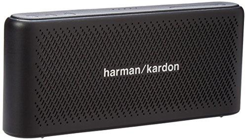Harman Kardon HK Traveler Black Portable Bluetooth Speaker with Microphone Black by Harman Kardon