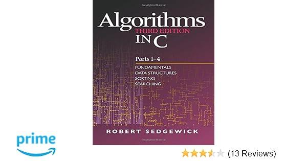 Amazon com: Algorithms in C, Parts 1-4: Fundamentals, Data