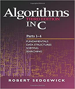 algorithms in c parts 1 4 fundamentals data structures sorting