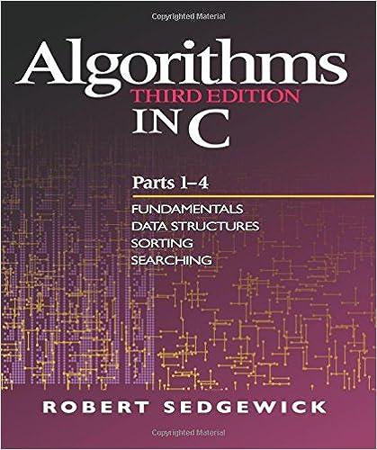 Amazon Com Algorithms In C Parts 1 4 Fundamentals Data