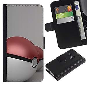 All Phone Most Case / Oferta Especial Cáscara Funda de cuero Monedero Cubierta de proteccion Caso / Wallet Case for Samsung Galaxy S3 MINI 8190 // P0Keball Two