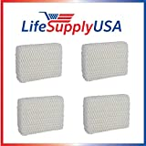 4 Pack Humidifier Filter for Sears Kenmore Humidifier 14803 14804 Wick Filter. Fits Sears Kenmore models 14804, 14103, 14104, 14113, 14114, 14121 and 14122