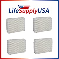 4 Filter Filter for Holmes HWF55, Vornado 221, 232, 421, 432, & HU1-0021 Humidifier Wick