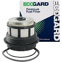 ECOGARD XF59292 Diesel Fuel Filter - Premium Replacement Fits Ford F-250 Super Duty, F-350 Super Duty, Excursion, E-350 Super Duty, E-350 Econoline Club Wagon, E-350 Econoline, E-350 Club Wagon