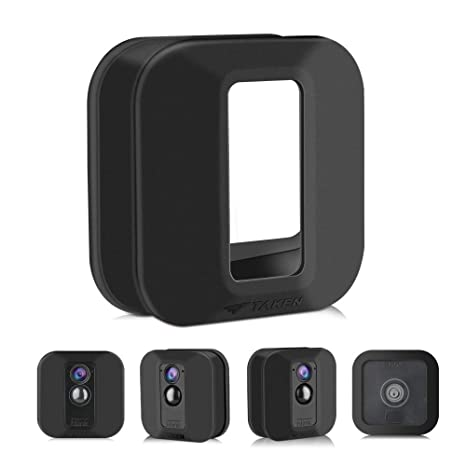 Indoor Outdoor Best Home Accessories White Anti-Scretch Protective Cover for Full Protection Silicone Skin for Blink XT//XT2 Security Camera-Mofad Silicon Case for Blinks Home Security 3 Pack