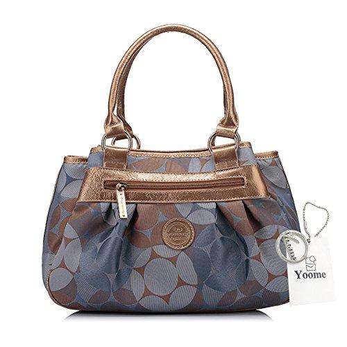 Yoome bolso de lona de gran capacidad bolsa de mango superior bolsos elegantes para mujer bolso de monedero de señoras - Perú Perú