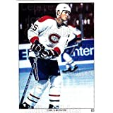 Andrew Cassels Hockey Card 1991 Montreal Canadiens Panini Team Stickers #3 Andrew Cassels