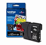 Brother LC65HYBK High-Yield Ink Cartridge, 900 Page-Yield, Black