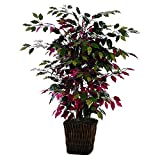 Vickerman 4' Artificial Campania Bush in Square Willow