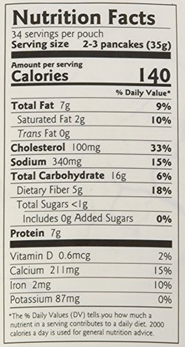 Paleo Pancake and Waffle Mix by Birch Benders, Low-Carb, High Protein, High Fiber, Gluten-free, Low Glycemic, Prebiotic, Keto-Friendly, Made with Cassava, Coconut and Almond Flour, 42 Ounce 1-pack by Birch Benders (Image #1)