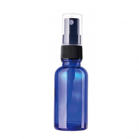 Sukisuki - Botella de Cristal DE 30 ML con Embudo para Aceite Esencial, Vidrio,
