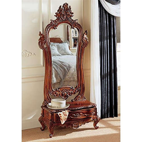 Design Toscano Thornwood Manor Victorian Dressing Mirror