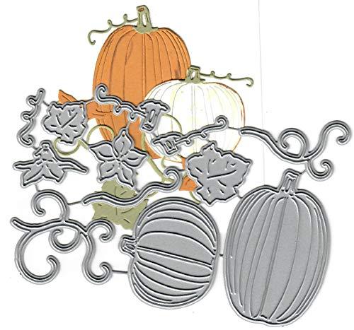 Dies to die for Metal Craft Cutting die -Pumpkin Patch - Halloween Fun