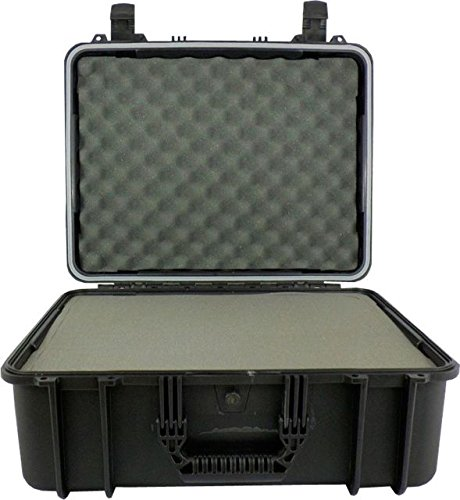 Condition 1 20'' Large #253 Black Waterproof Carrying Case with DIY Customizable Foam by Condition 1