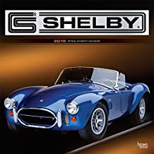 Shelby 2019 12 x 12 Inch Monthly Square Wall Calendar with Foil Stamped Cover, Ford Mustang Motor Car
