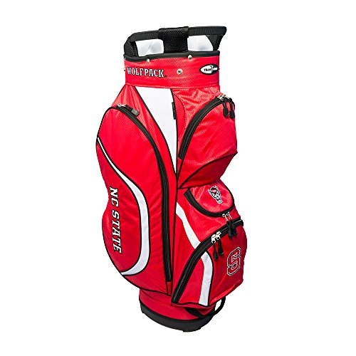 Team Golf NCAA Clubhouse Cart Bag, NC State by Team Golf