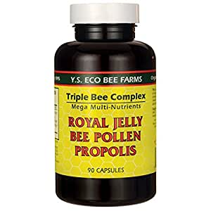 Amazon.com: YS Organic Triple Bee Complex Royal Jelly Bee