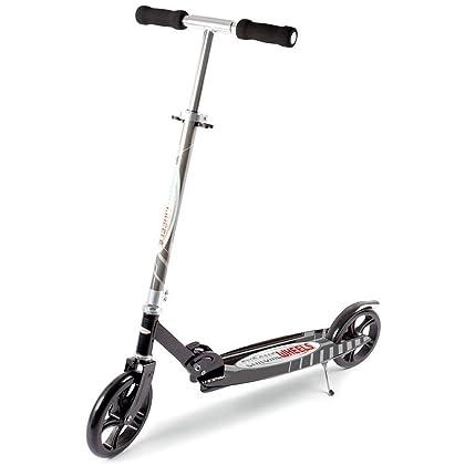 Chrome Wheels Dash Glidekick Scooter - Black