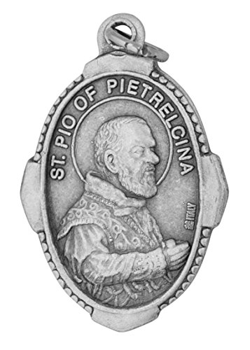 - Venerare Traditional Catholic Saint Medal (Padre Pio)