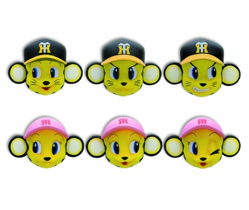 Tigers trading Magnet Collection Hanshin Tigers (non-scale trading mini figure) BOX (japan import)