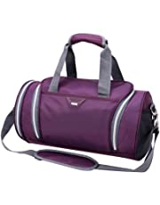 a1cf3b88798 ITODA Holdall Gym Bag Large Sports Duffel Bag with Shoes Compartment  Waterproof Nylon Travel Weekender Tote