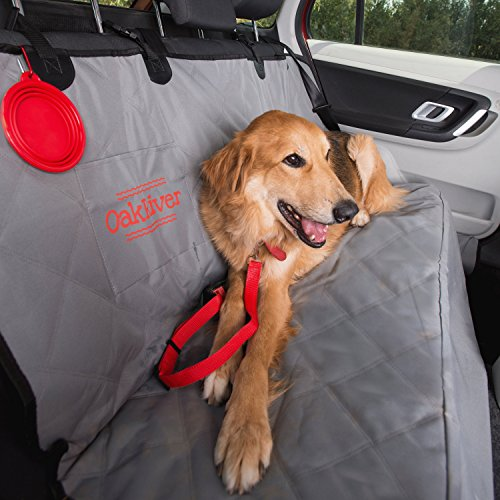 oakriver-pet-car-seat-cover-durable-waterproof-non-slip-backing-fashionable-gray-with-anchors-and-si