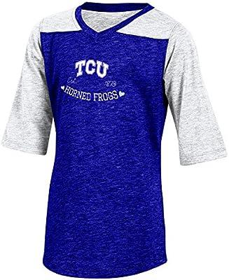 Champion CHAFK Womens Champion NCAA Long Sleeve Fall Fashion Sweatshirt