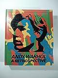 Andy Warhol : A Retrospective Paperback 1989