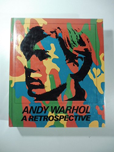 Andy Warhol : A Retrospective Paperback (Andy Warhol Cover Art)
