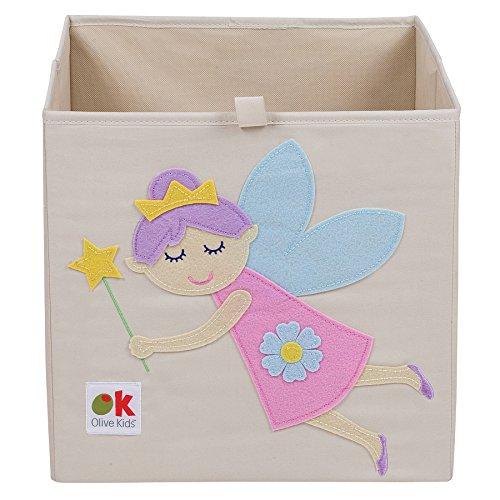 Wildkine 13 Inch Storage Cube, Fairy Princess