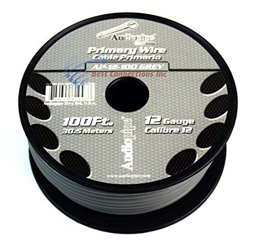12 GA PRIMARY POWER GROUND WIRE (4) 100FT ROLLS BOAT CAR 12-80 VOLT MULTI COLOR by Audiopipe (Image #6)