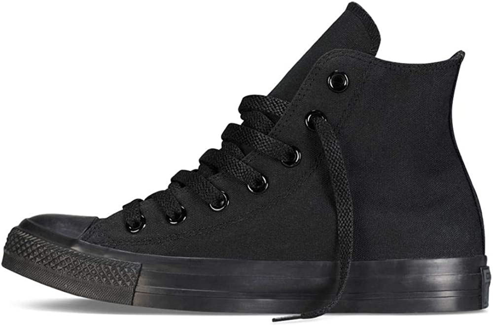 Converse Chuck Taylor All Star Season Ox Chaussures en tissu pour enfant Black Monochrome