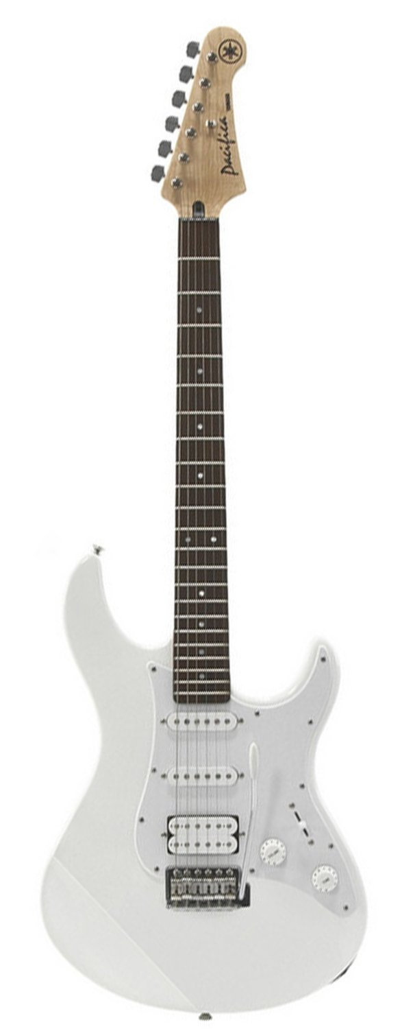 Yamaha PAC012 Double Cutaway Electric Guitar - White