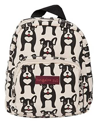 Bungalow 360 Mini Backpack (Black Dog)
