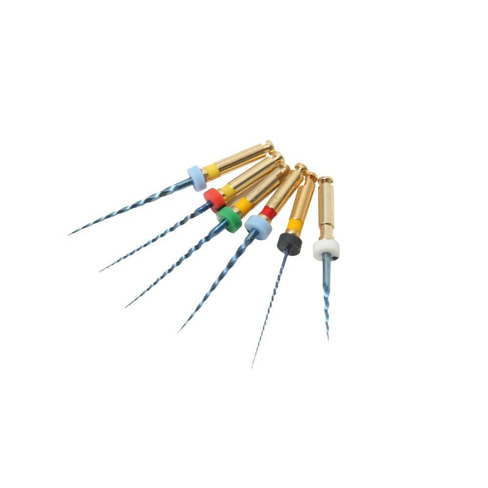 5 cajas de conductos radiculares endodó nticos con activació n por calor NITI 21 mm Denco