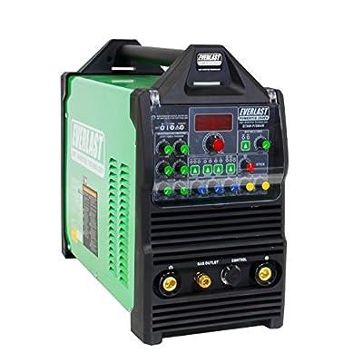 2017 Everlast PowerTIG 250EX AC DC TIG STICK Pulse welder 220 Volt Inverter-Based AC DC