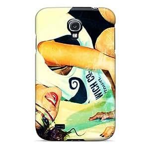 DannyLCHEUNG Samsung Galaxy S4 Durable Cell-phone Hard Cover Unique Design Trendy Breaking Benjamin Image [EWM1768fQQr]
