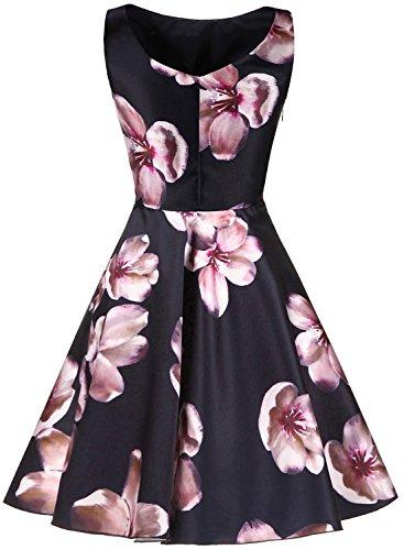 Kleid Rockabilly Erosebridal Vintage Abendkleid Cocktailkleider 50s Retro 6x0r0nqIg