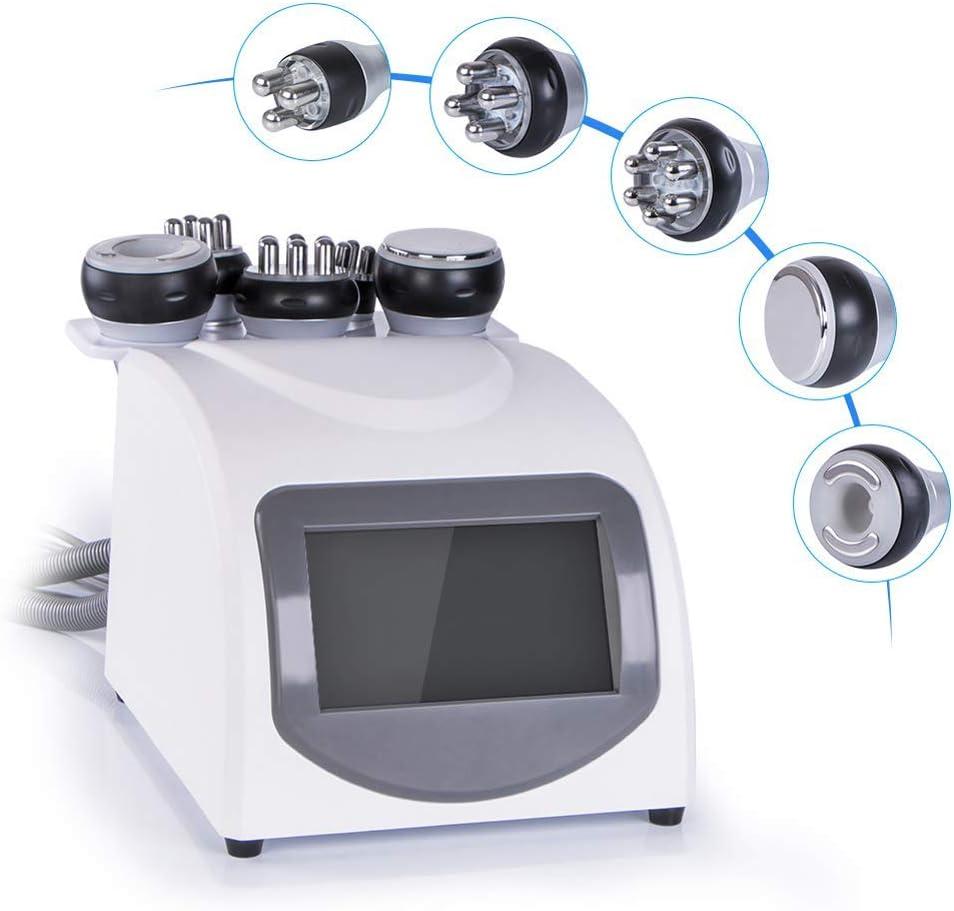 DDDXF 40K Ultrasons Cavitation Massage sous Vide Radiofrequence Beaute Appareil pour Professionnel Graisse Perte Cellulite Reduire Corps Faconner Anti Rides