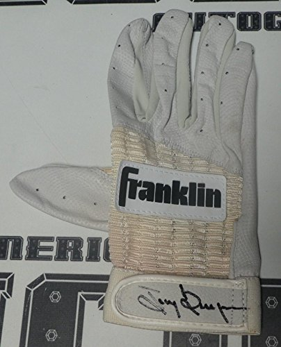 Tony Gwynn Signed 1980s Padres Baseball Game Issued Batting Glove COA R - PSA/DNA Certified - Autographed MLB Gloves