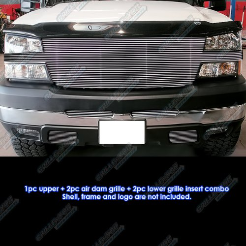 2005 chevy 2500 grill emblem - 3