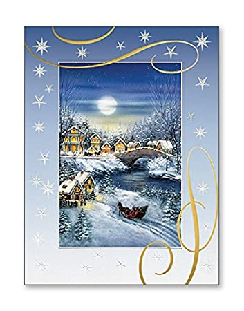 Amazon pack of 12 deluxe embossed christmas cards 12 pack of 12 deluxe embossed christmas cards 12 envelopes boxed holiday cards christmas m4hsunfo